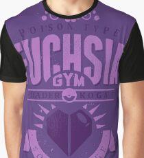 Fuchsia Gym Graphic T-Shirt