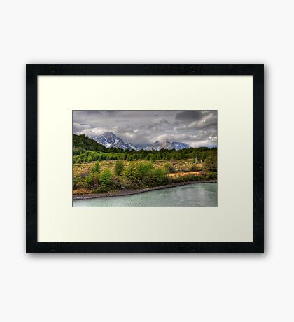 A Clearing in the Forest Framed Print