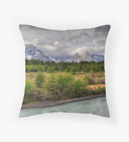 A Clearing in the Forest Throw Pillow