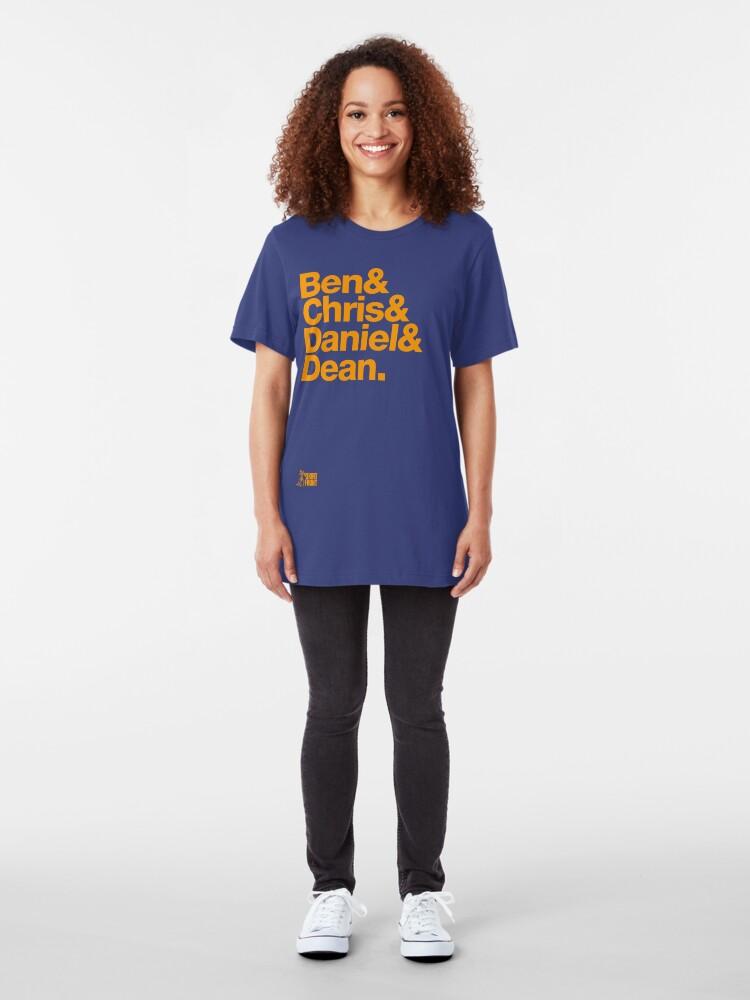 Alternate view of Fab Four: West Coast 2006 Slim Fit T-Shirt