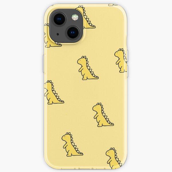Yellow Dinosaur iPhone Soft Case