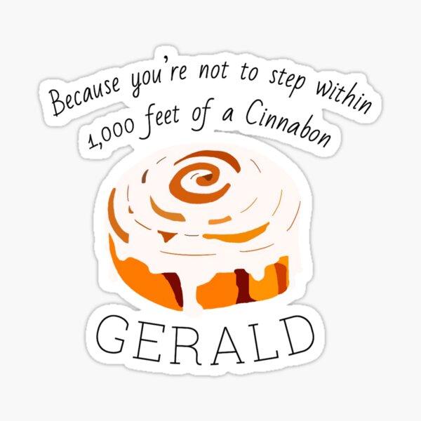 Black Friday - Gerald's Cinnabon Sticker