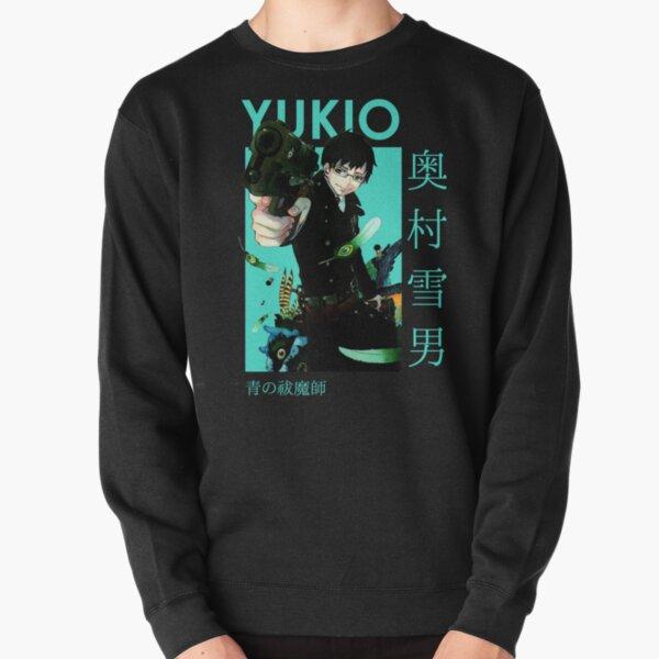 Yukio Okumura Blue Exorcist Card Anime Pullover Sweatshirt