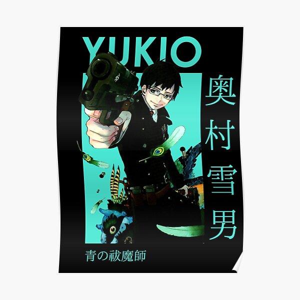 Yukio Okumura Blue Exorcist Card Anime Poster