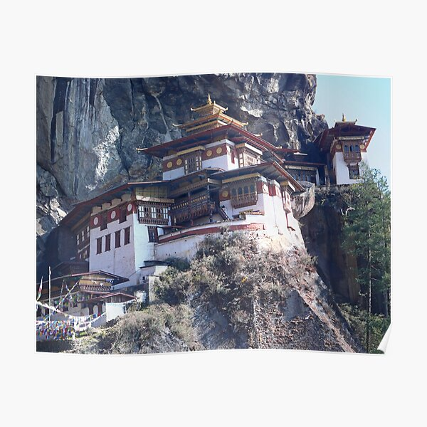 Tigers Nest Monastery Poster