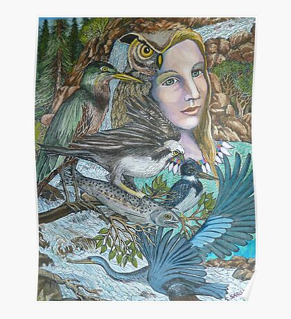 River Spirit Poster
