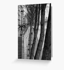 Bords de Seine Greeting Card