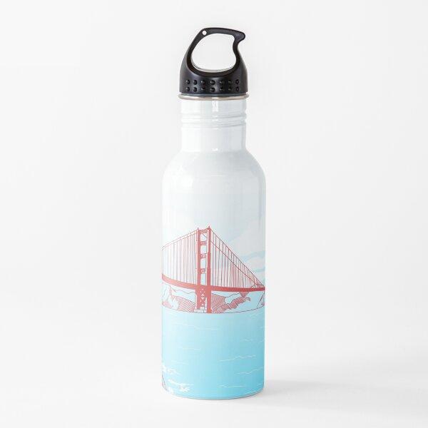 Golden Gate de Cassis Botella de agua