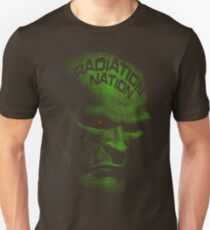 Radiation Nation (with text) Unisex T-Shirt