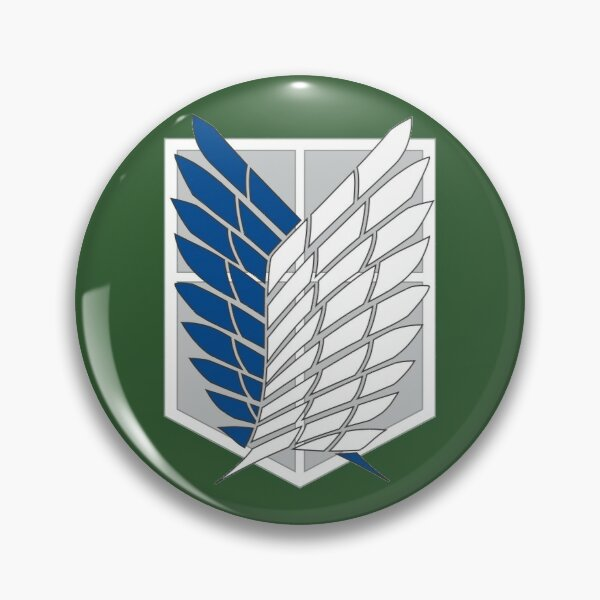Scout Regiment Shield Pin