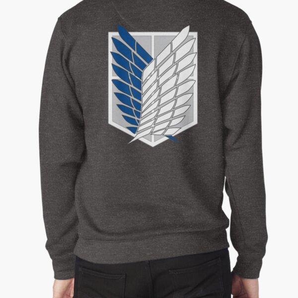 Scout Regiment Shield Pullover Sweatshirt