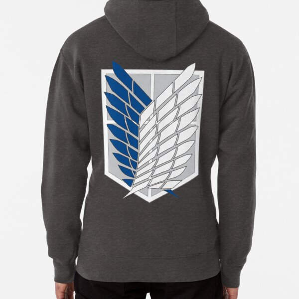 Scout Regiment Shield Pullover Hoodie