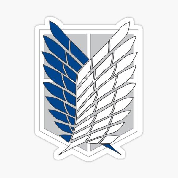 Escudo del Regimiento Scout Pegatina
