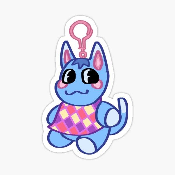Animal Crossing: New Horizons Rosie Keychain Sticker