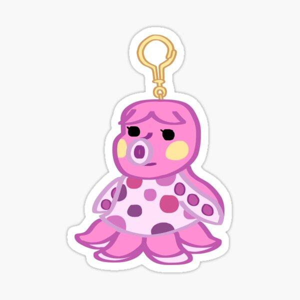 Animal Crossing: New Horizons Marina Keychain Sticker