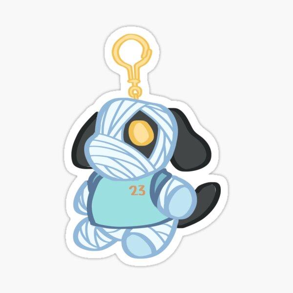 Animal Crossing: New Horizons Lucky Keychain Sticker