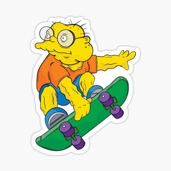 Hans Moleman - Simpsons Sticker
