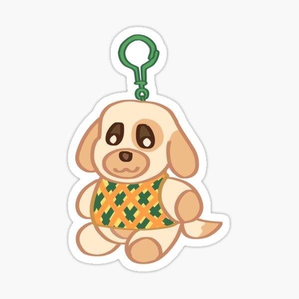 Animal Crossing: New Horizons Goldie Keychain Sticker