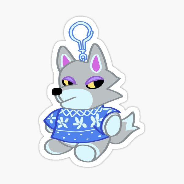 Animal Crossing: New Horizons Fang Keychain Sticker