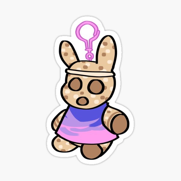 Animal Crossing: New Horizons Coco Keychain Sticker