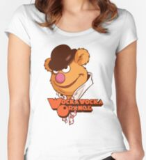 Fozzie Droog Women's Fitted Scoop T-Shirt