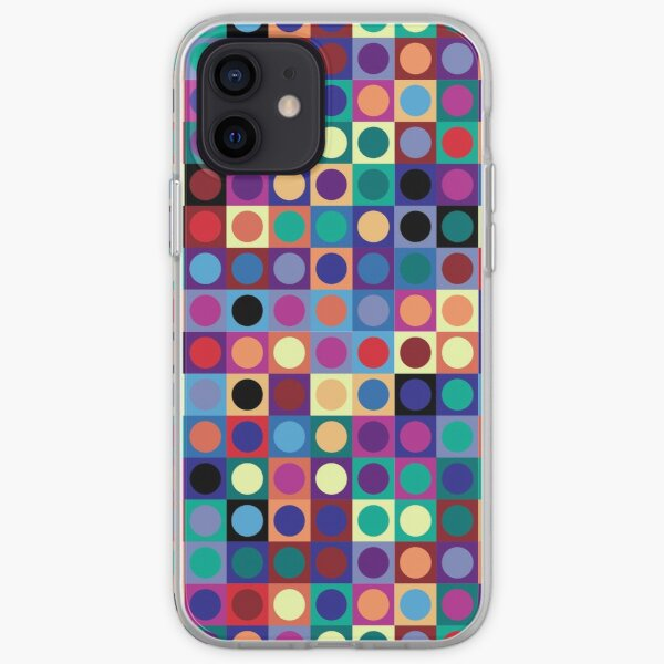 Vasarely Inspired iPhone Soft Case