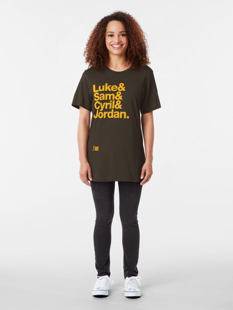 Alternate view of Fab Four: Hawthorn 2015 Slim Fit T-Shirt