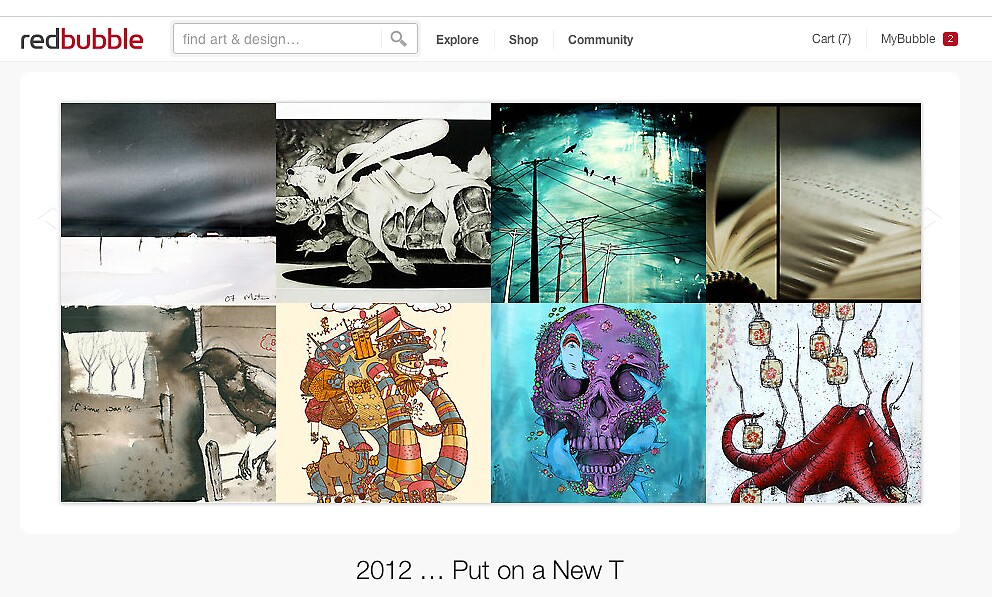 2 January 2012 by The RedBubble Homepage