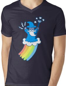 Rainbow Wizard Mens V-Neck T-Shirt