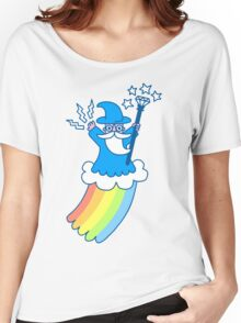 Rainbow Wizard Women's Relaxed Fit T-Shirt