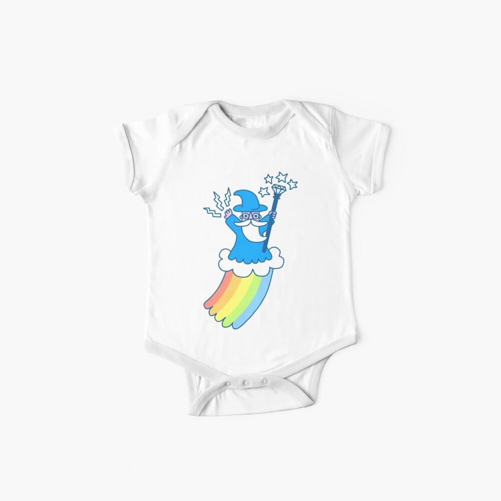 Rainbow Wizard Baby One-Piece