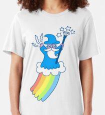 Rainbow Wizard Slim Fit T-Shirt