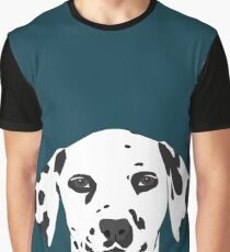 Ryan - Dalmatian Dog Print for Dog Lover, Pet Owner Graphic T-Shirt