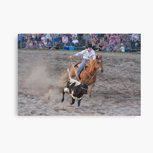 Moruya Rodeo New Years Day 2012 Canvas Print