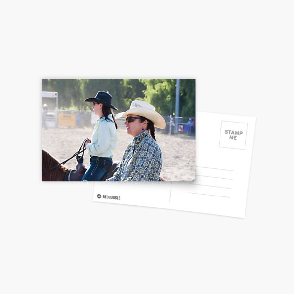 Moruya Rodeo New Years Day 2012 Postcard