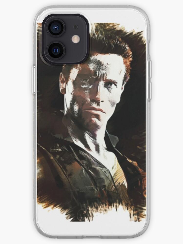 John Matrix - Arnold Schwarzenegger [COMMANDO]   Coque iPhone