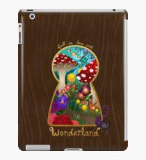 Travel to Wonderland iPad Case/Skin