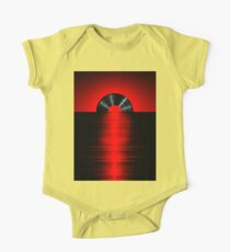 Vinyl sunset red Kids Clothes