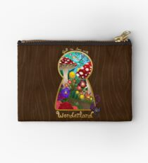 Travel to Wonderland Zipper Pouch