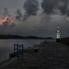Mevagissey Light by Paul Gibbons