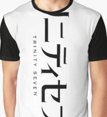 Trinity Seven Poster Graphic T-Shirt