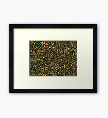 A Carpet of Butterflies  Framed Print