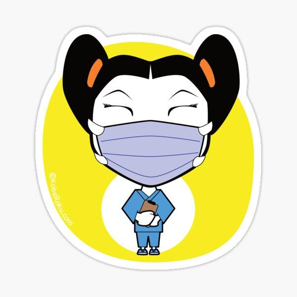 Wear a Mask Sticker