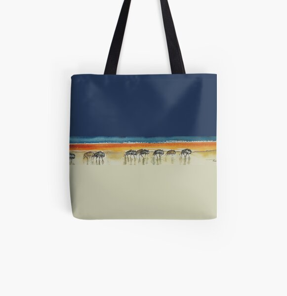 Wide Open Spaces All Over Print Tote Bag