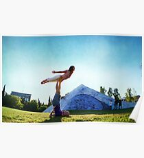 Acroyoga Fly Poster