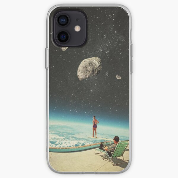 Summer with a Chance of Asteroids iPhone Soft Case