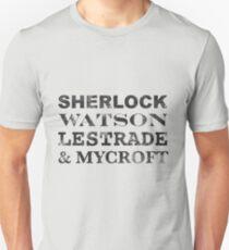 Sherlock Team Unisex T-Shirt