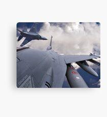 F-16 Composit Canvas Print