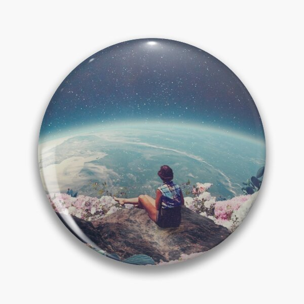 My World Blossomed when I Loved You Pin