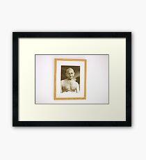 Gandhi  Framed Print